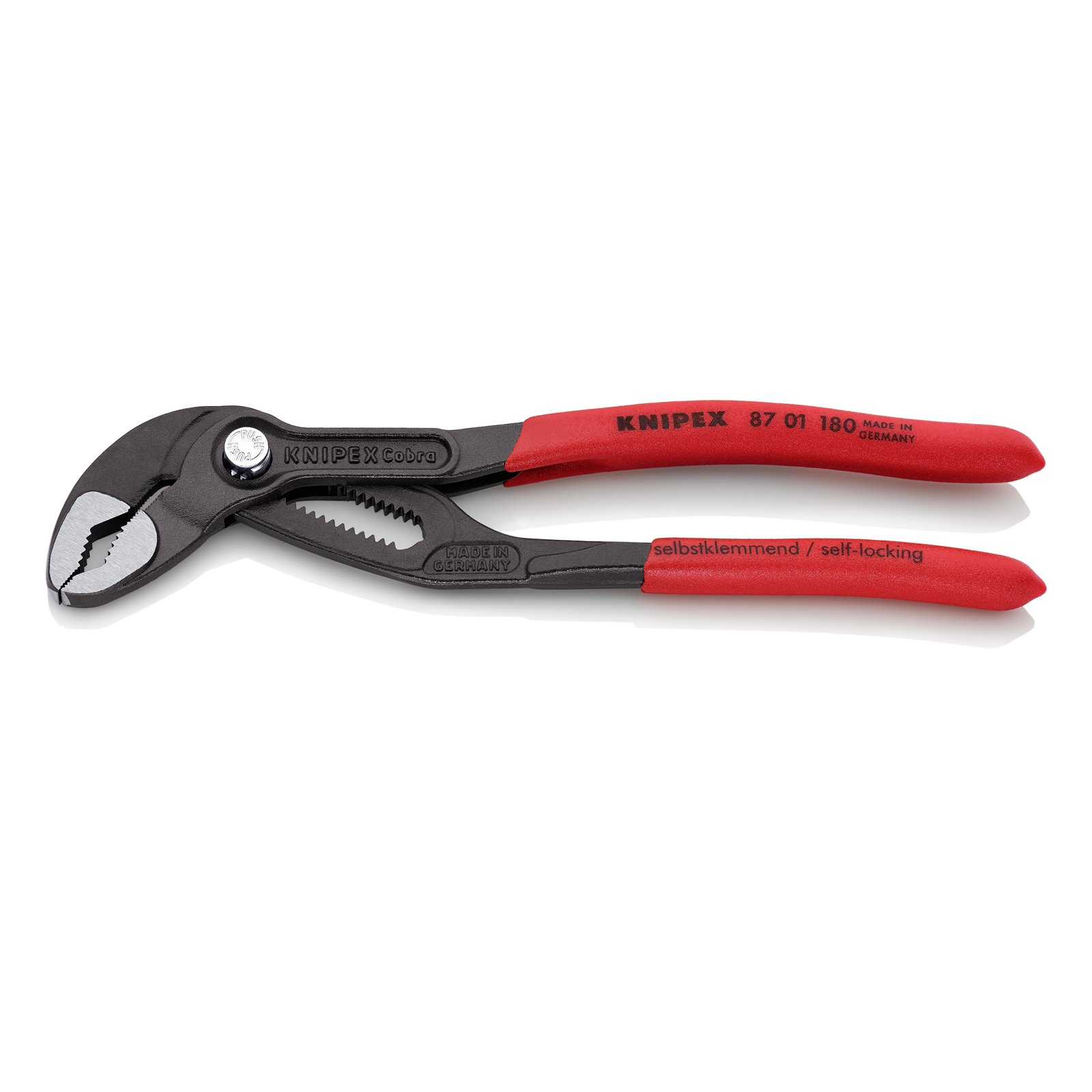 KNIPEX Tools Knipex 8701180 Cobra Adjustable Gripping Pliers - 7'' by KNIPEX Tools