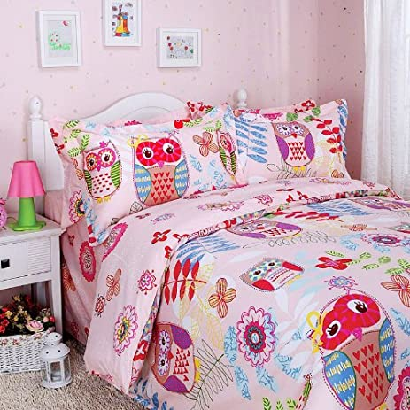 owl product s is only cotton this blend cover single a poly duvet