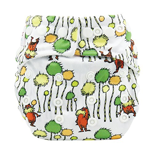 Bumkins Snap-In-One Cloth Diaper, Lorax