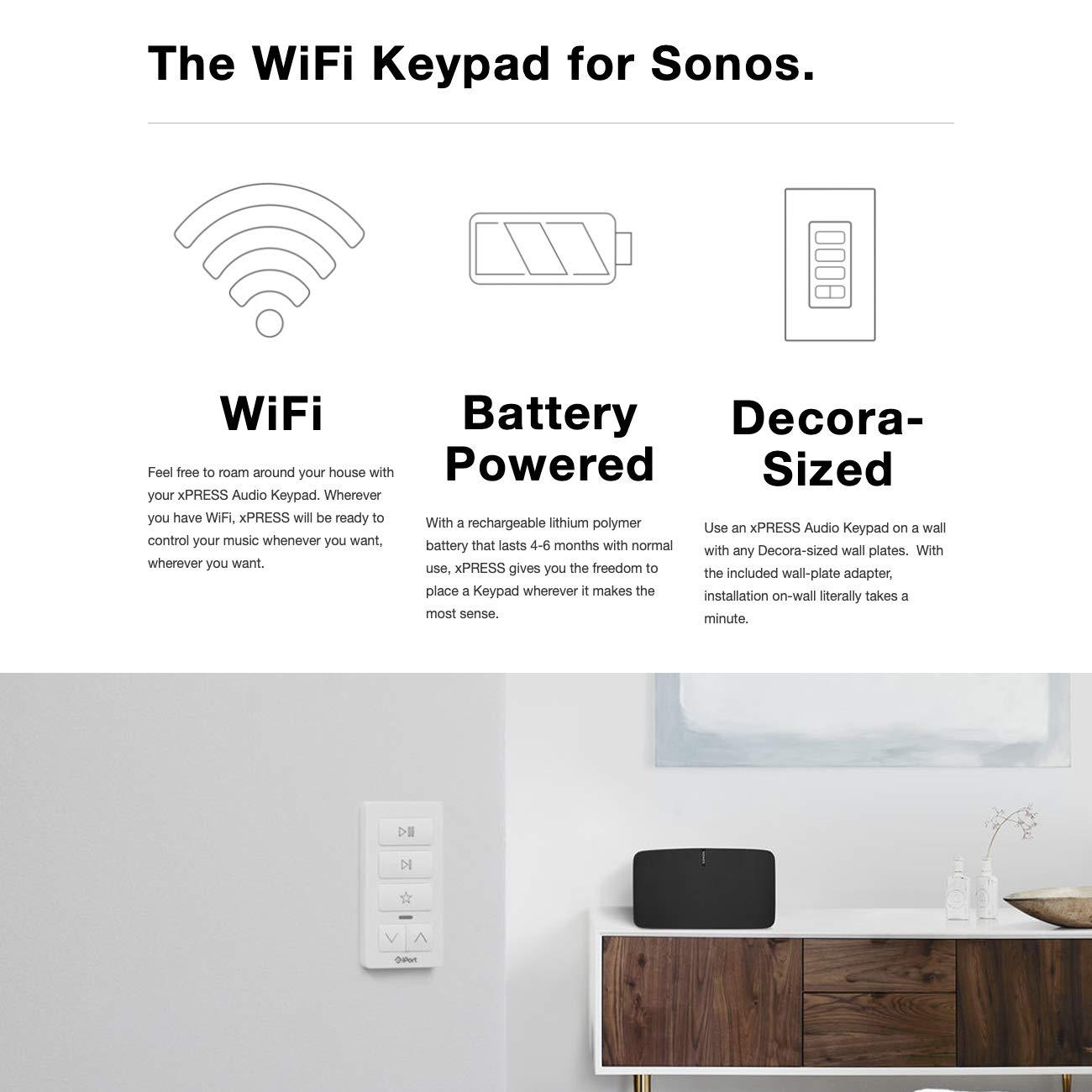 Teclado de Audio para Sony Xpress