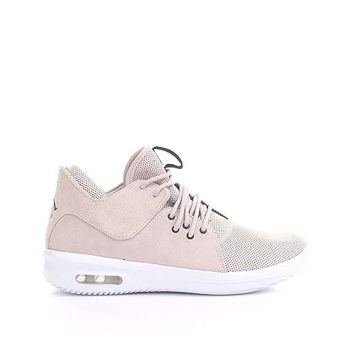 Zapatillas Jordan - Air Jordan First Class Beige/Negro/Blanco Talla: 41: Amazon.es: Zapatos y complementos