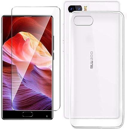 HYMY Funda para BLUBOO S1 Smartphone + 1 x Vidrio Templado Protectores Pantalla: Amazon.es: Electrónica