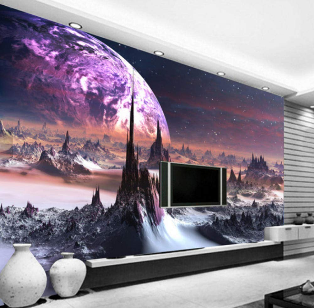 Amazon Com Murals Photo Wallpaper 3d Stereo Universe Stars Wall