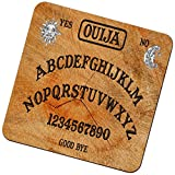 "Rikki Knight ""Ouija Board Black Magic Design"" Square Beer Coasters"