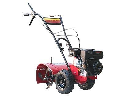 Varan Motors 93020 Motocultor térmico motor 6.5CV anchura de trabajo 50CM con ruedas todoterreno