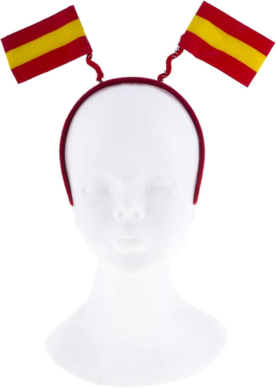 Funny Fashion Diadema Banderines de España: Amazon.es: Juguetes y juegos