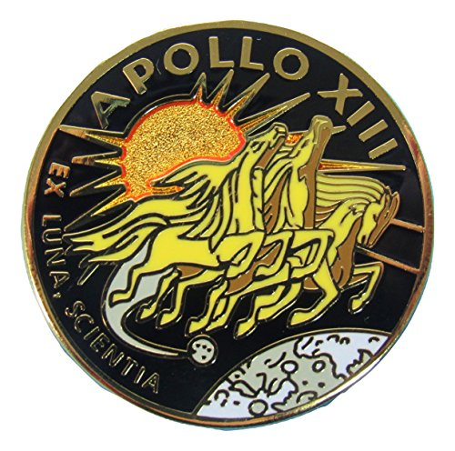 Apollo 13 Lapel Pin Official Nasa Edition