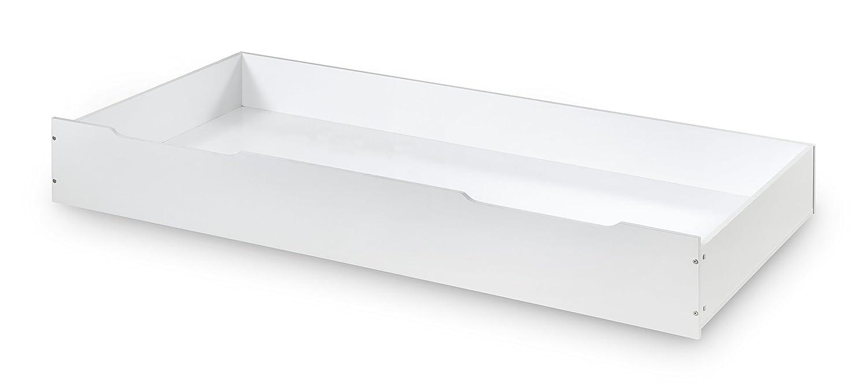 192x95x28 cm Julian Bowen Storage Drawer All White Wood