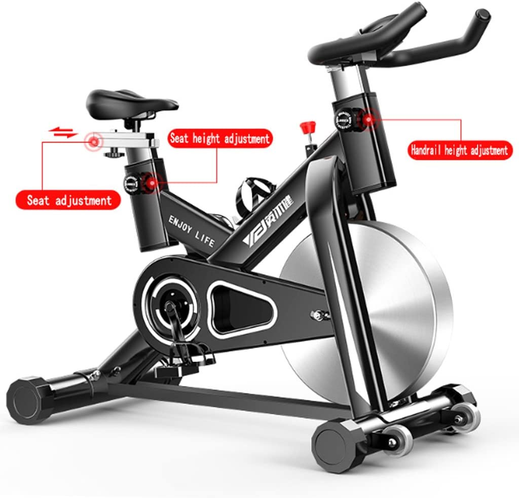 A-SSJ Bicicletas Estáticas y de Spinning Bicicleta de Pedales para ...