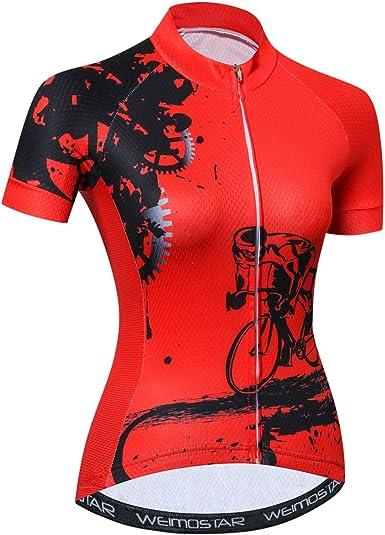 Ciclismo Jersey Mujeres Mountain Bike Camisas manga corta Road Bicicletas Cothing MTB Tops