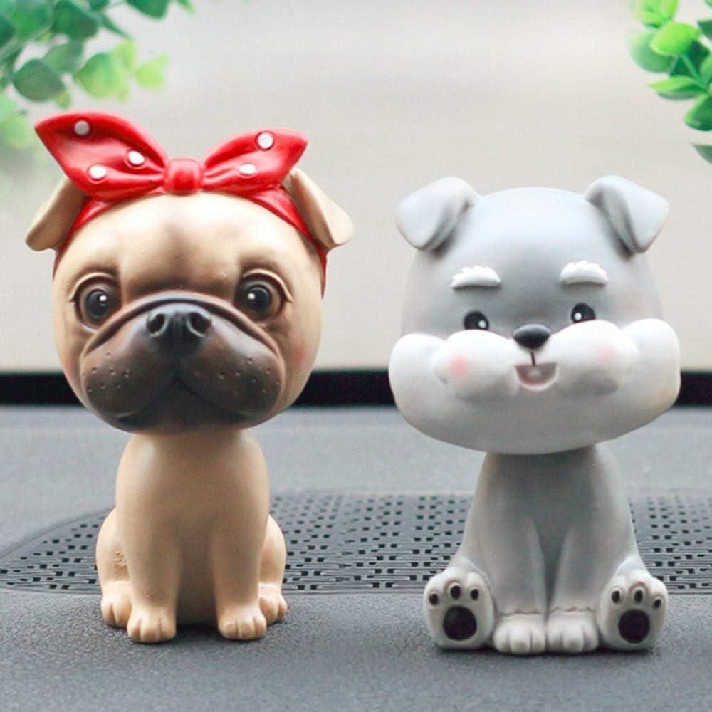 LIFEIYAN Bobble Head Dogs Car Dash Ornaments Puppy Dogs Mascot Rocking Head for Car Vehicle Decoration,car Ornaments Bobble Head Dashboard car Accessories for Women Color : Corgi