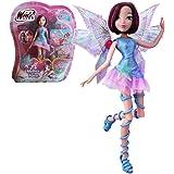 Winx Club - Mythix Fairy - Tecna Poupée 28cm avec ceptre Mythix