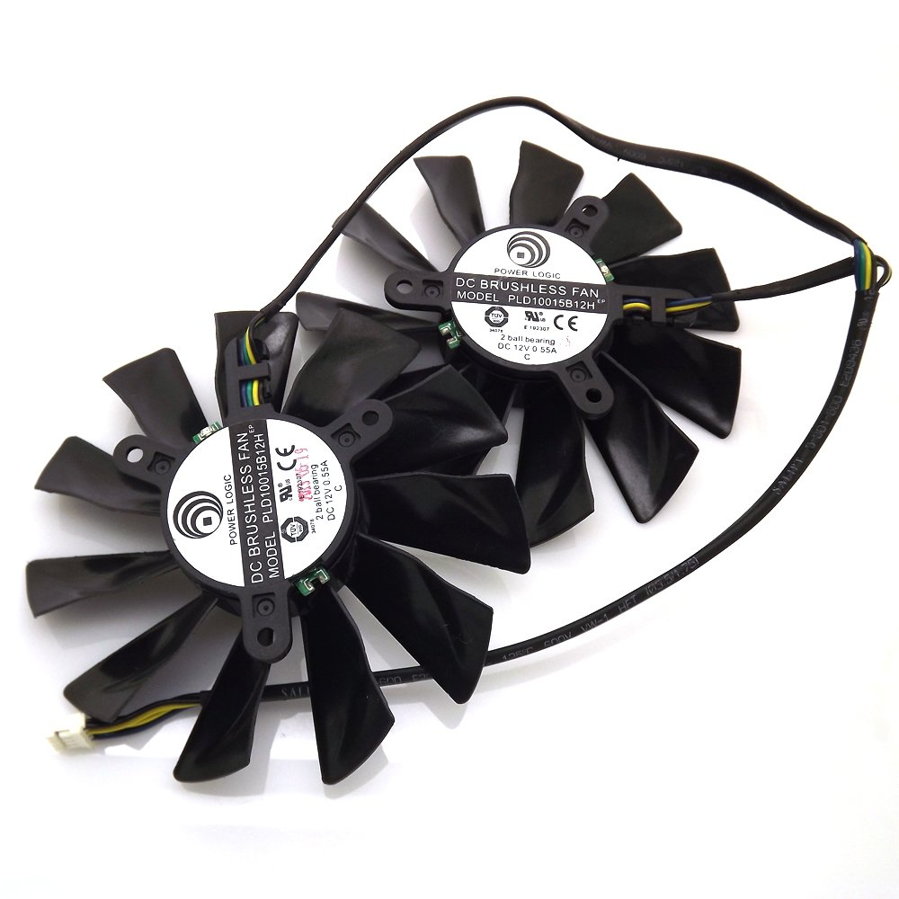 PLD10015B12H 12V 0.55A 95mm 4 Pin Replacement Cooling Fan For GTX680 GTX770 R9 280X R9-280X R9-270X R7-260X Graphics Card Fan
