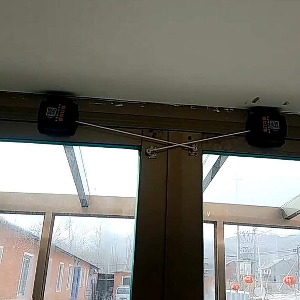 Automática Cierre de puerta,Puerta corredera Cerrador de puerta Conveniente para la Peso ligero Puerta doble Sola puerta-B 8.5 * 8.5cm(3x3inch): Amazon.es: Bricolaje y herramientas