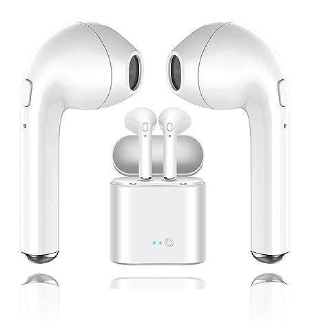Auricular Bluetooth, i7 Auricular inalámbrico Bluetooth/estéreo: Amazon.es: Electrónica