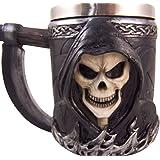 Amazon com   Ancient Nord Drinking Tankard Mug - Skull