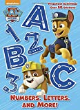 Numbers, Letters, and More! (PAW Patrol) (Paperback)