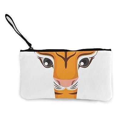 Amazon.com: Monedero con letra T para hombre Tiger con ...
