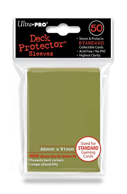 Amazon.com: Ultra Pro Standard Sleeves (metálico), color ...