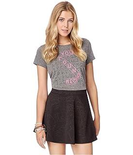b90c425d075 Aeropostale Womens Stretch Floral Mini Skirt at Amazon Women's ...