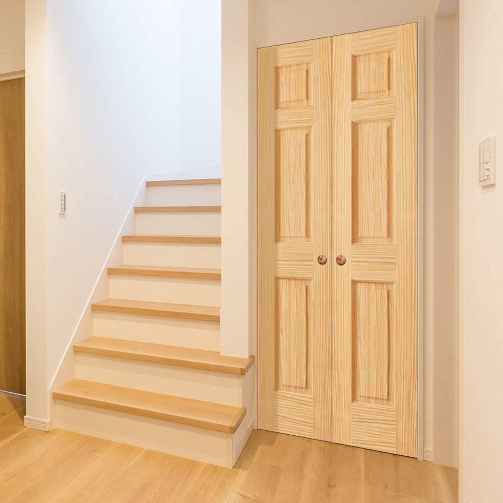 decorative interior stair railing kits ideas for.htm amazon com 6 panel door interior slab  solid pine  80x18  home  amazon com 6 panel door interior slab