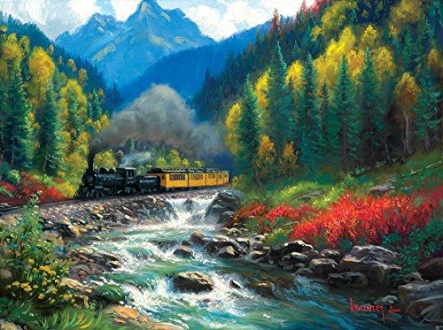 (S RAILROAD JIGSAW PUZZLE - Durango Silverton Colorado 1000 piece)