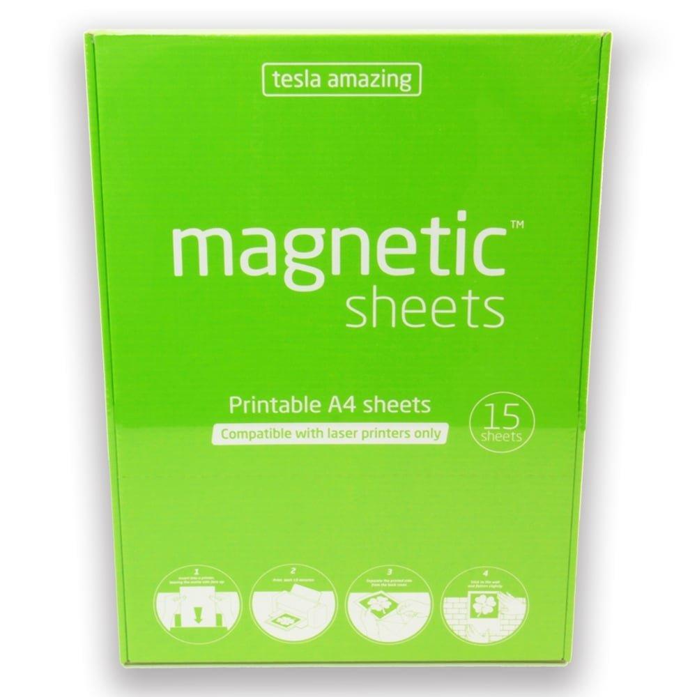 Aimant Experts Taa4pr (15) Tesla Impressionnante magné tiques imprimables A4 Pad, Blanc (lot de 15) Magnet Expert Ltd. TAA4PR(15)