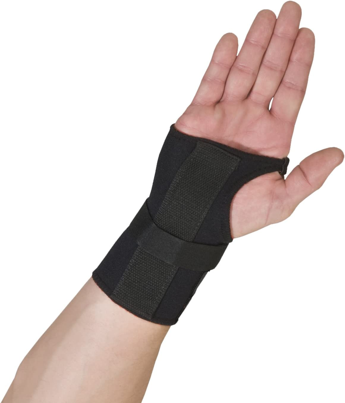 Medium Black Left Hand Thermoskin Carpal Tunnel Glove