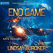 End Game Audiobook by Lindsay Buroker Narrated by Kate Reading