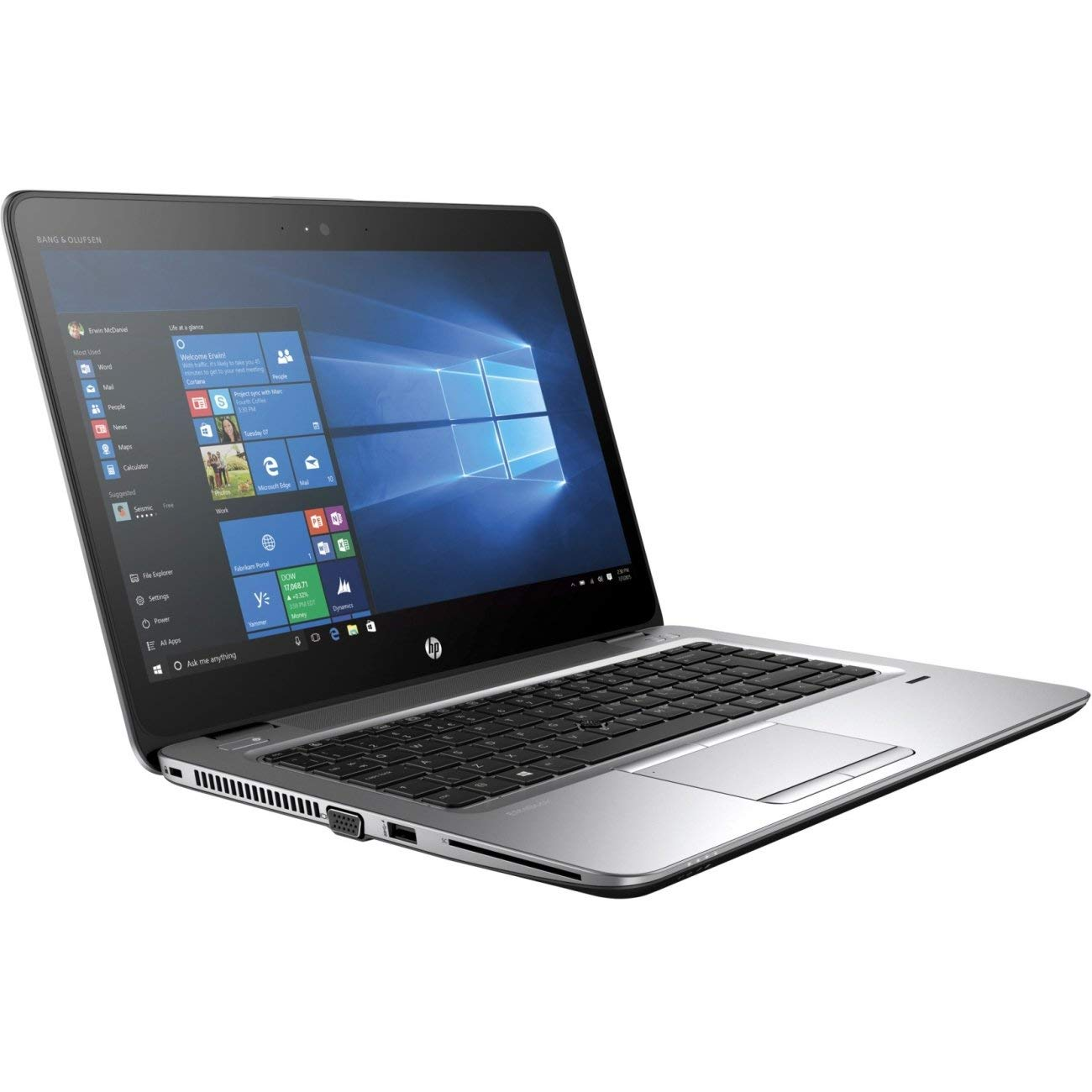 "HP EliteBook 745 G3 14"" Notebook Laptop AMD A10-8700B 1.8GHz 8GB 256GB SSD Windows 10 Professional (Certified Refurbished)"