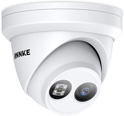 ANNKE 8MP POE Security Camera for ANNKE 4K NVR Security System Ultra HD IP Camera EXIR Night Vision, H.265 Video Compression, IP67 Weatherproof for Outdoor, Support 128GB Micro SD, Remote Access
