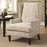 Coaster Home Furnishings 902180 Casual Accent Chair, Beige For Sale