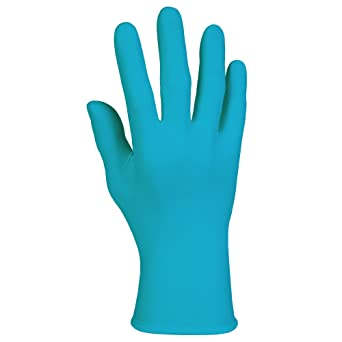 "9.5/"" Ambidextrous 100 Gloves // Box 50578 Kimberly Clark Smooth Blue Nitrile Exam Gloves Medium 6 Mil"