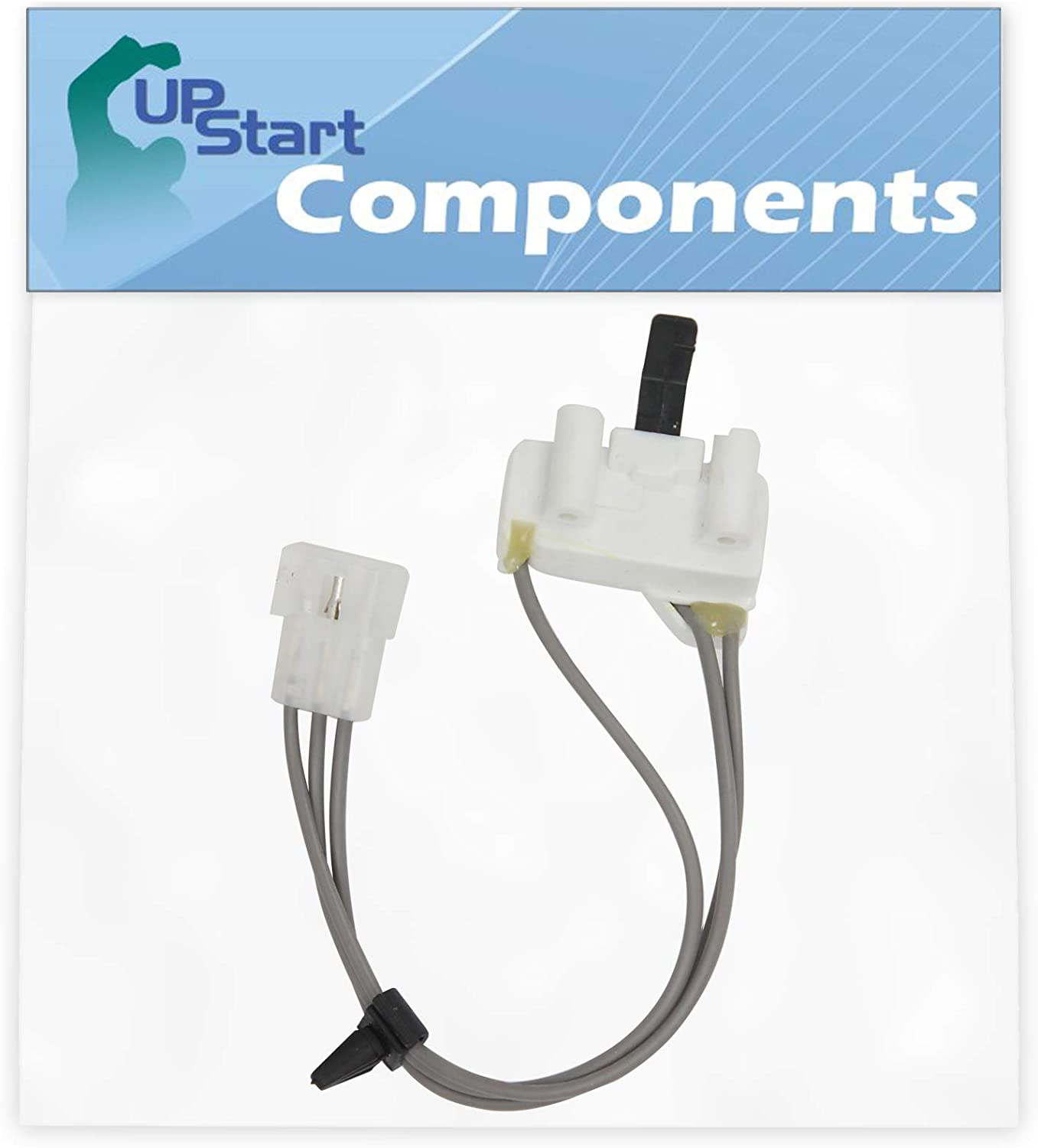 3406105 Dryer Door Switch Replacement for Whirlpool, Roper & Estate Dryers - Compatible with Part Number AP6008560, 3405104, 3405105, 3406104, PS11741700