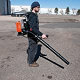 Gas-Powered leaf blower, 63 cc back pack leaf leaf blower