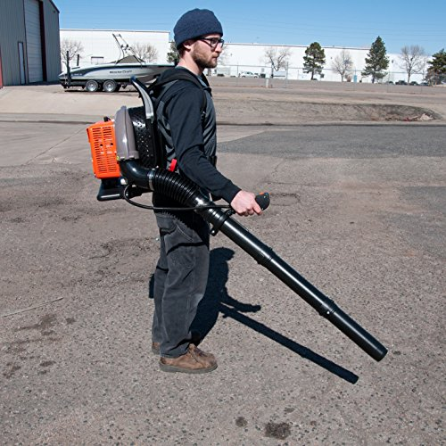 Gas-Powered leaf blower, 63 cc back pack leaf leaf blower by Tool Tuff