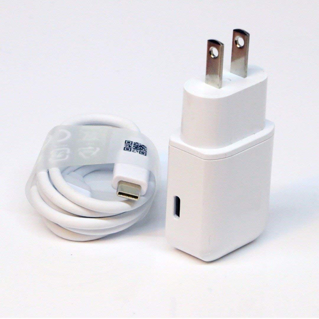 OEM Professional Kit for LG K20 Quick Charge 3.0 Adaptive Fast Wall Charger Includes 2 Cables for USB-C and MicroUSB!
