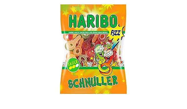 Haribo Saure Schnuller, Gummibärchen, Weingummi, Fruchtgummi ...
