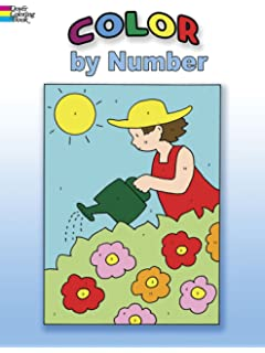 Color By Number Dover Coloring Books