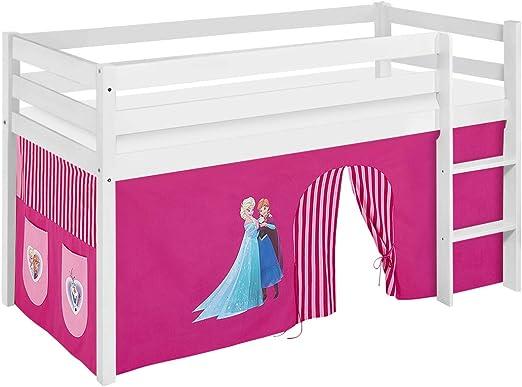 Lilo Kids Juego Cama Jelle Frozen, hochbett con Cortina Cuna ...