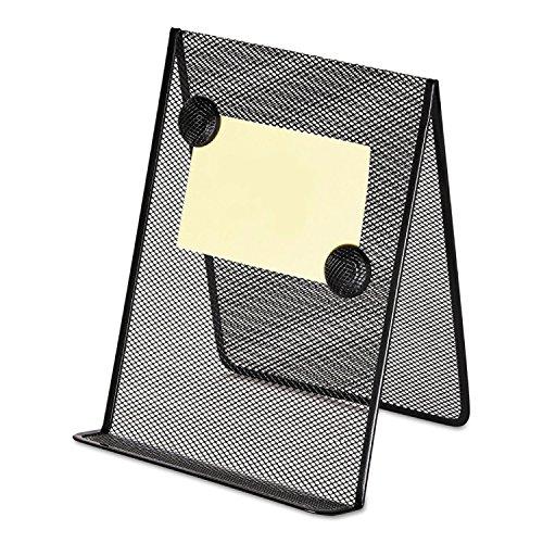 Universal 20027 Metal Mesh Document Holder, 9 x 8 5/8 x 11 3/8, Free Standing, Black