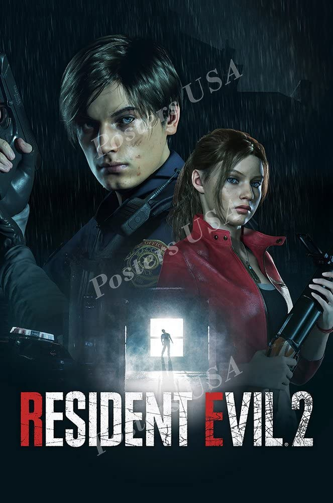 Amazon Com Mcposters Resident Evil 2 Remake Ps4 Xbox One Poster Glossy Finish Nvg225 24 X 36 61cm X 91 5cm Posters Prints