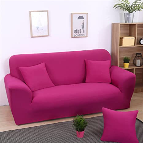 Amazon.com: High Elastic Sofa Cover Silod Color Slipcover ...