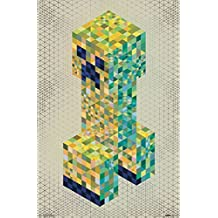"Trends International RP14915 Minecraft Creeperscope Wall Décor, 22.375""x 34"""