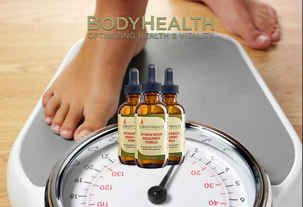 BodyHealth Optimum Weight Management Formula (60 day supply) Natural Weight Loss Liquid Drops, For Rebalancing Metabolic Hormones, With Medically Designed Diet Plan, Quality Ingredients by BodyHealth (Image #1)