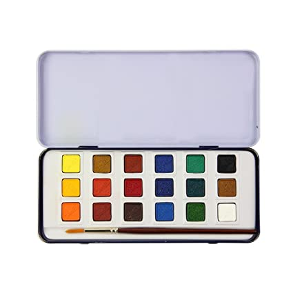 6c12a41cdbb Camlin Kokuyo Water Colour Cakes  Amazon.in  Office Products