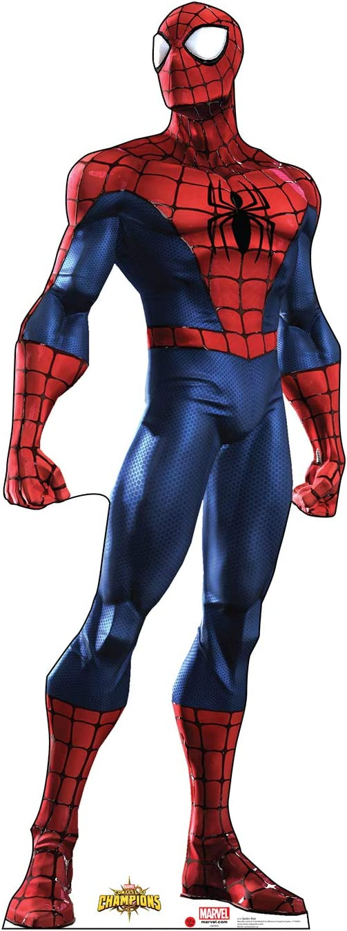 Cardboard People Max 42% OFF Spider-Man Life sold out Size Cutout - Standup