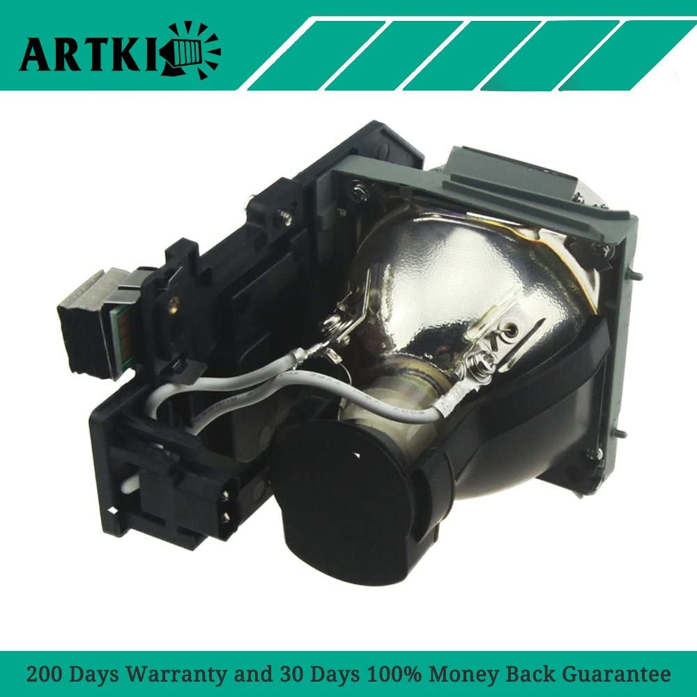 by Artki 4320 Replacement Lamp Bulb 331-2839//725-10284 for Dell 4320 Projector with Housing