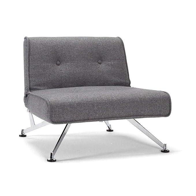 Innovation Living Silla Cama Design Clubber Gris Convertible ...