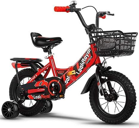 HYCy Bicicleta para niños 3-4-6 años Bicicleta para niños Chica ...